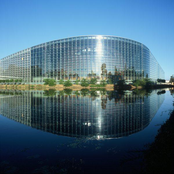 European Parlament, Strassburg 2003